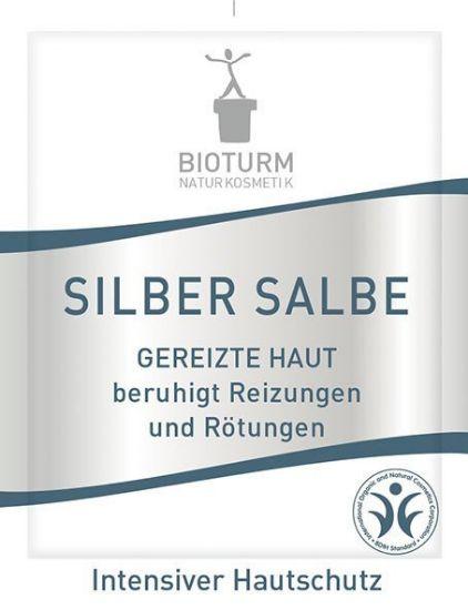 Obrazek Maść ze srebrem do skóry podrażnionej Bioturm 3 ml