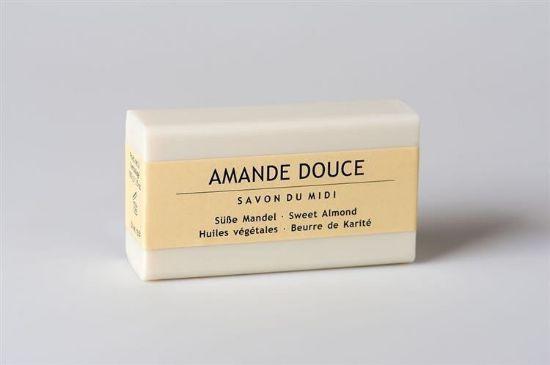 Obrazek Mydło prowansalskie z masłem shea, migdał