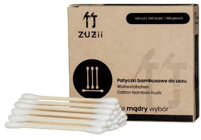 Obrazek Patyczki kosmetyczne z bambusa i bawełny