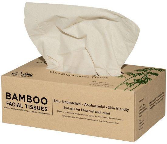 Obrazek Zuzii Chusteczki higieniczne z bambusa 3warstwowe