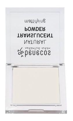 Obrazek Matujący puder transparentny w kamieniu Benecos