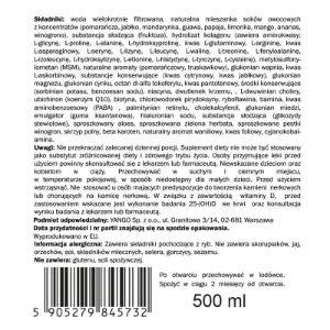 Obrazek Piękna Zdrowa Skóra - multiwitamina (500 ml)