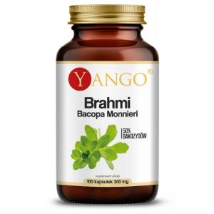 Obrazek Brahmi - ekstrakt 50% bakozydów - Bacopa 300 mg