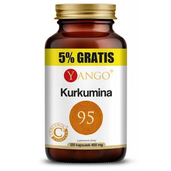 Obrazek Kurkumina 95 - 120 kapsułek