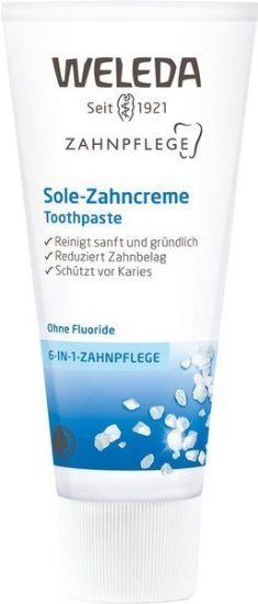 Obrazek Solna pasta do zębów Weleda z solą morską