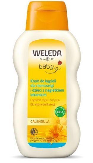 Obrazek Kremowy płyn do kąpieli dla dzieci Weleda